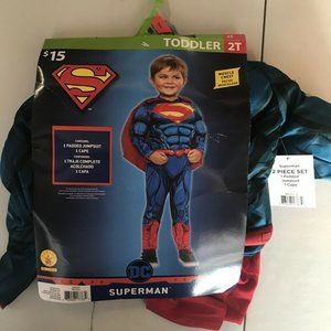 DC Comics Muscle Superman Boys Toddler Costume